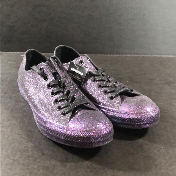 Converse Ctas Ox 62992c Black Glitter